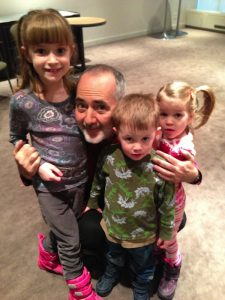 Raffi and the kids at his recent concert.  He is so great with kids!  What a delight to meet him in person.