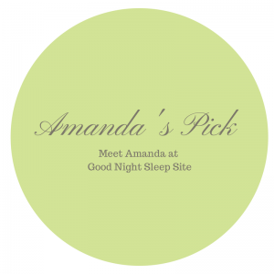 Sleep product consultant Amanda's Pick