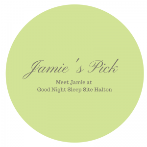 Sleep product consultant Jamie's pick