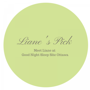 Sleep product consultant Liane's pick