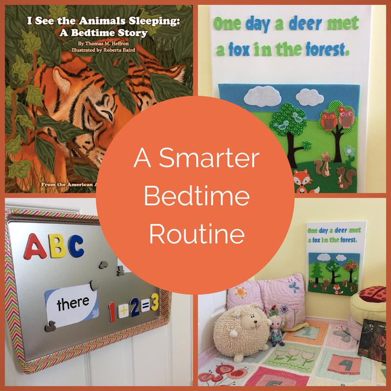 a smarter bedtime routine