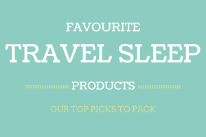 travel sleep products