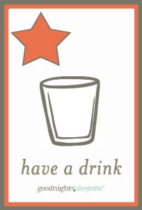 have a drink routine card