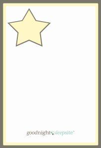 blank routine card