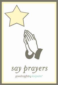 routine pray cards