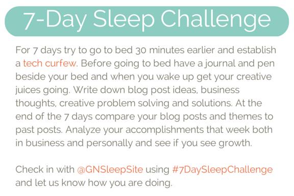 Good Night Sleep Site Sleep Challenge