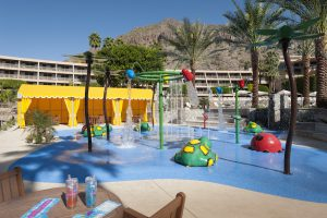 water park at canyon suites
