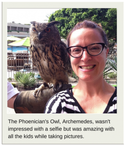 The Phoenician's Owl