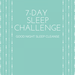 7-Day Sleep Challenge