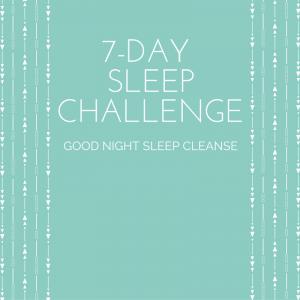 7-Day Sleep Challenge