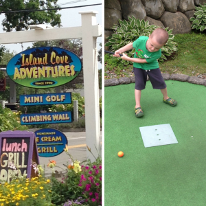 mini golf is Things to do for kids in Martha's Vineyard.