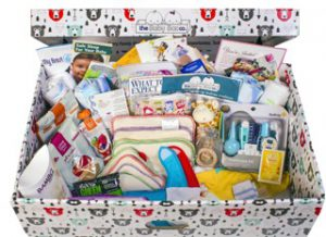The Baby Box filled with useful products for new parents