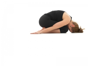 relaxing yoga poses for sleep