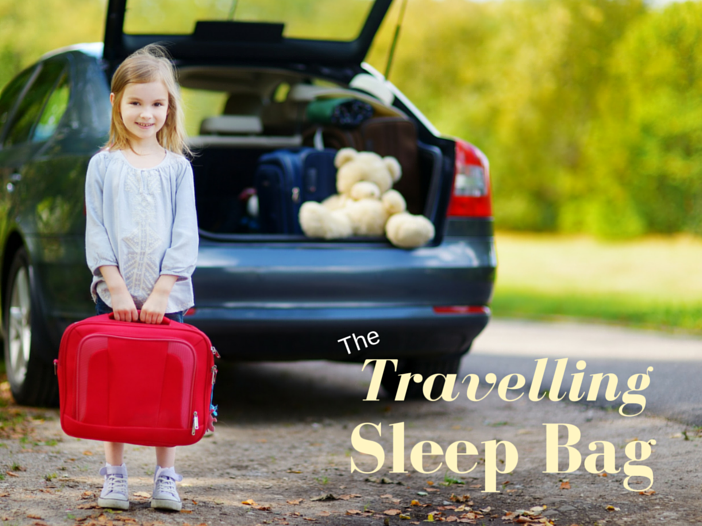 how to pack a travel sleep bag
