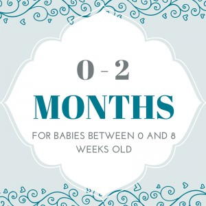 baby's sleep in the first two months