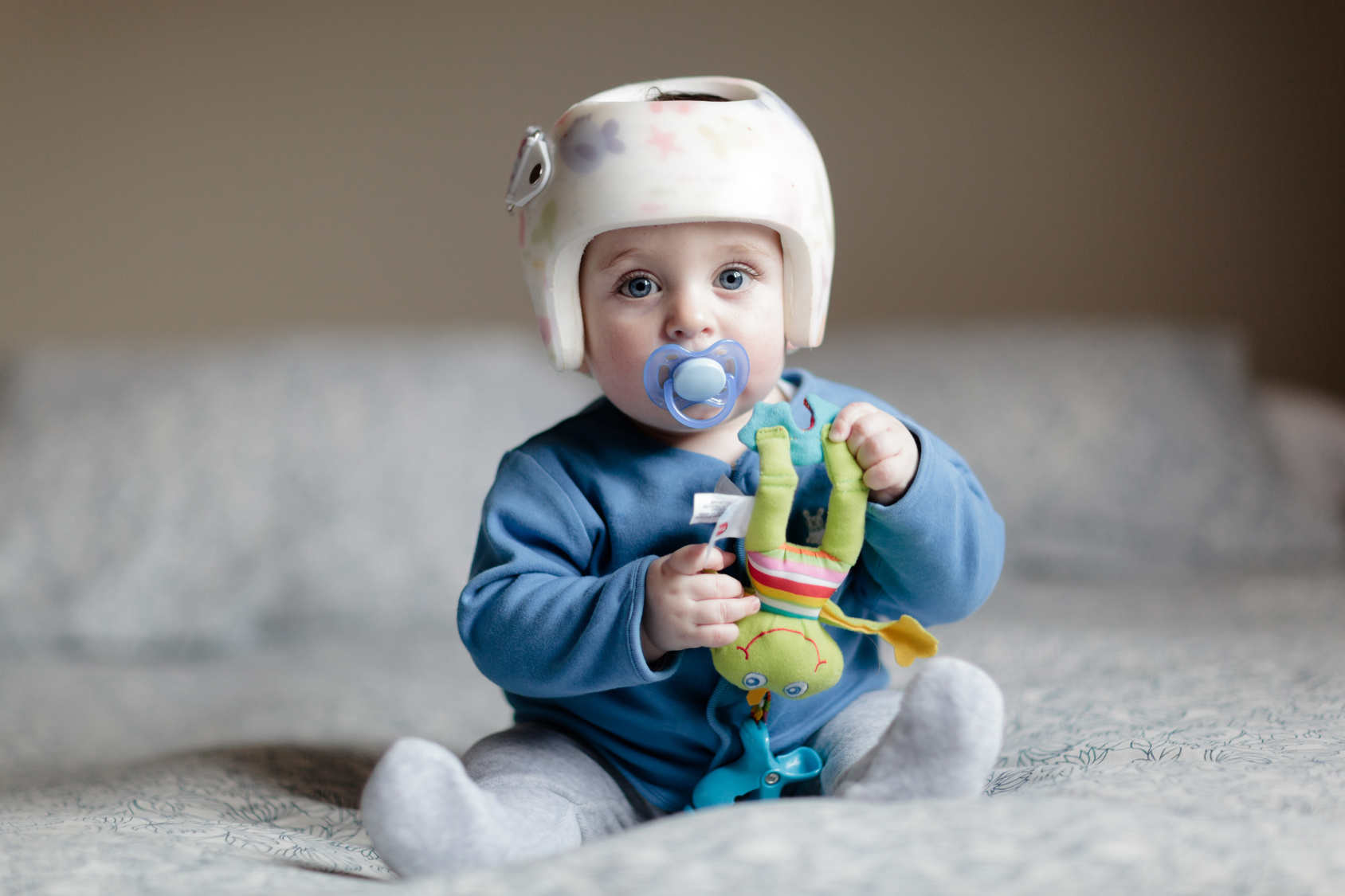 Sleep Tips For Babies With A Helmet, Cast, Brace Or Reflux