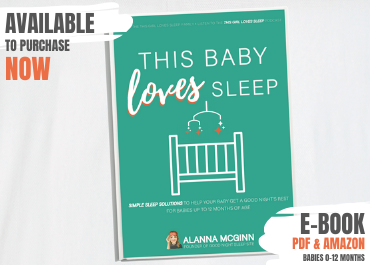 Baby Sleep Book Available Now